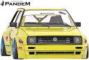 【M's】VW ゴルフ2 19E (1983y-1992y) PANDEM フロントリップ...
