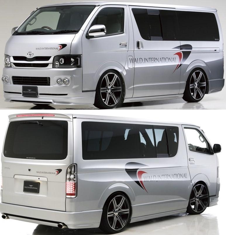 Toyota Hiace van REGIUS ACE KDH/TRH 200-WALD Executive Line (version 2 ...