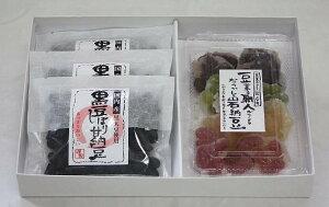 熟練の技が冴えています!!手作りの味昔懐かしの味!手作り岩納豆(1パック)&甘納豆(3袋)セッ...