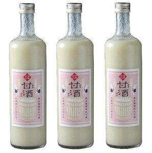 冷やしても温かくしてもおいしい甘酒です!奥出雲酒造 甘酒(ノンアルコール)3本セット 箱入...