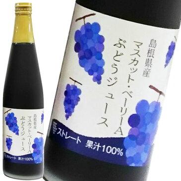 島根ワイナリー ぶどうジュースマスカットベリーA 500ml