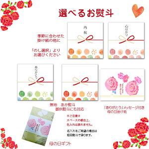 小袋・ミニカード熨斗またはメッセージカードつけれます
