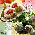 いちご桜餅・自然の香りよもぎ大福10ヶセット