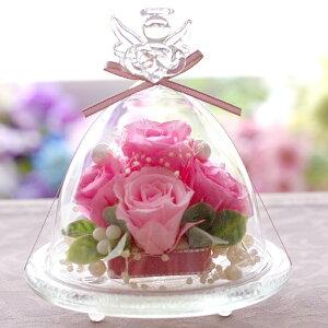 プリザーブドフラワー エンジェル プレミアム プレゼント ブリザード フラワー ブリザーブドフラワー プリザードフラワー バレンタイン