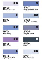 ★メール便対応★10%OFF★コピックチャオ単品BV000〜BV31(青紫系)【コピック】【コピックチャオ】【単品】【1本】【BV】【青紫】