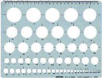 [銅鑼路徑模板]供銅鑼路徑模板日圓、圓周、一般使用的模板日圓直尺(特大)