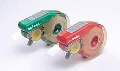 【ドラパス】 おもしろテープカッターレッド / グリーン