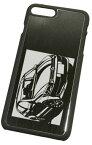 iPhone7 Plus用「フォルクスワーゲン ポロ Polo」切り絵デザイン ブラックアルマイト[CI7P-110] /車,傷つかない,渋い,プレゼント,コレクション,自動車,カー,アイフォンケース,スマートフォン[M便1/3]