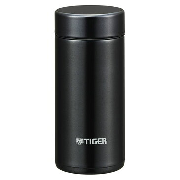 タイガー 水筒 200ml 直飲み ステンレス ミニ ボトル なめらか 飲み口 サハラ マグ 軽量 夢重力 パウダー ブラック MMP-J020KP Tiger
