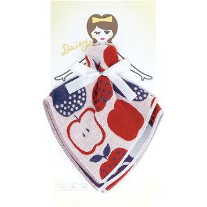 Floral sisters 3重ガーゼ ハンカチ ギフト Daisy×赤青りんご PCFS-809 日本国内正規品 【...