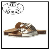 【大人気】STEVE MADDEN (スティーブ マデン) BEARFOOT レディース サンダル (PLATINUM) プラチナム 国内在庫 / 即発送可能 ENDLESS TRIP(エンドレス トリップ)