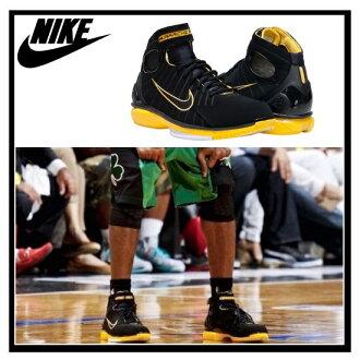 耐克 (Nike) 空氣變焦革條幫平底 2 k 4 (空氣放大領 halti) 科比 · 布萊恩特運動鞋黑/黑-VRSTY 玉米-白色 (黑色/黃色) 308475 003 無止境的旅途 (無休止的旅行)
