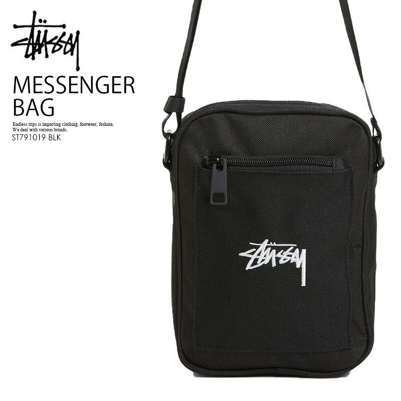 男女兼用バッグ, ショルダーバッグ・メッセンジャーバッグ STUSSY STOCK MESSENGER BAG BLACK () ST791019 BLK ENDLESS TRIP ENDLESSTRIP