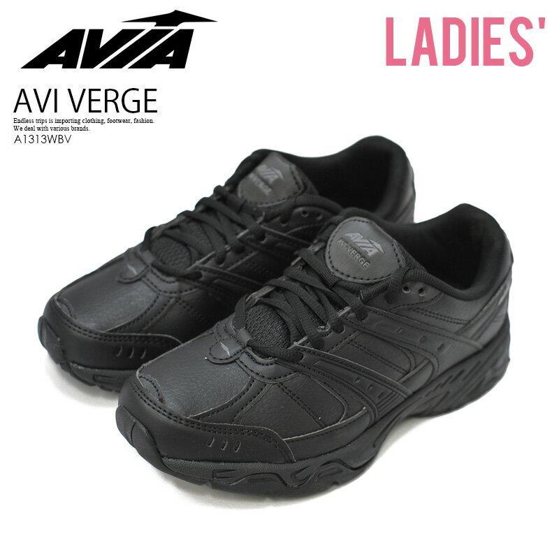 シューズ, レディースシューズ ! ! AVIA () AVI VERGE ( ) BLACKBLACK () A1313WBV ENDLESS TRIP ENDLESSTRIP