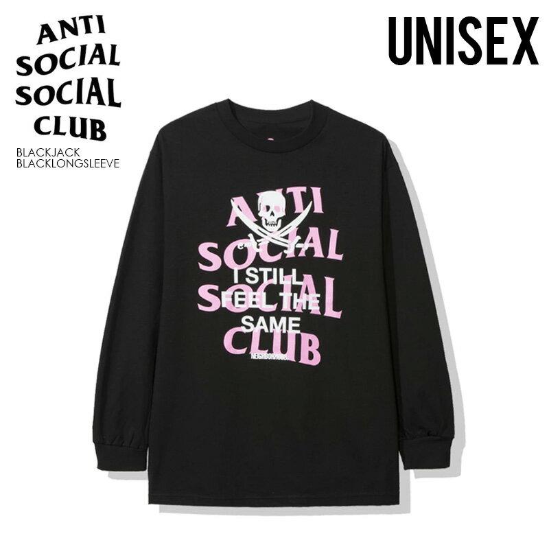 トップス, Tシャツ・カットソー !ANTI SOCIAL SOCIAL CLUB () NEIGHBORHOOD BLACK JACK BLACK LONG SLEEVE TEE ( T) T blackjackblacklongsleeve