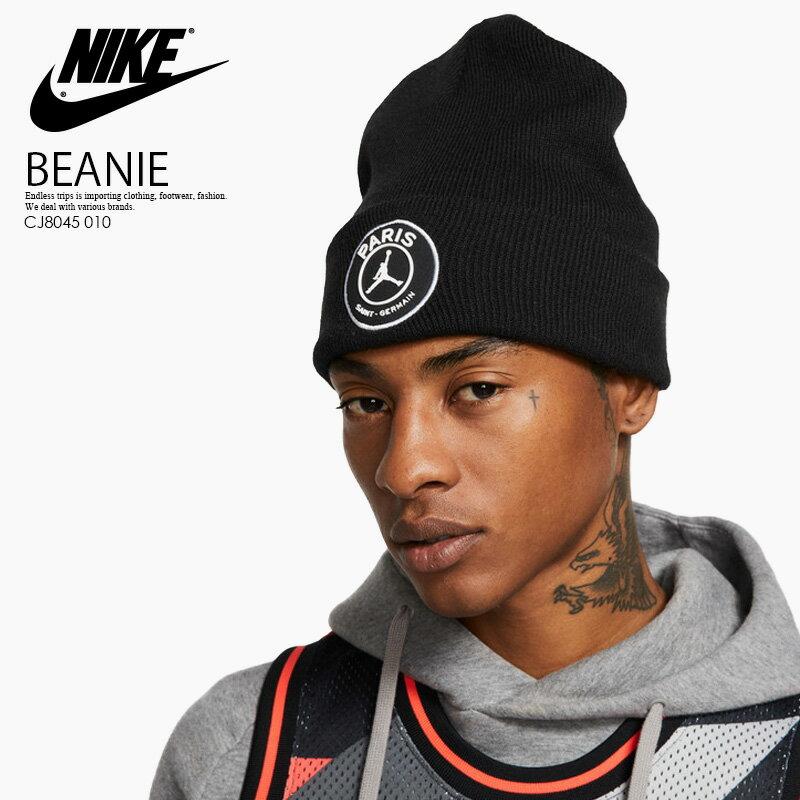 メンズ帽子, キャップ !!NIKE() JORDAN X PARIS SAINT GERMAIN BEANIE HAT ( ) BLACK () CJ8045 010 ENDLESS TRIP