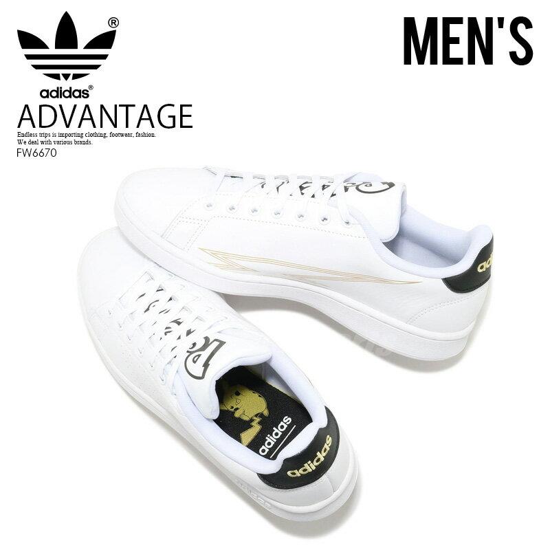 メンズ靴, スニーカー  adidas ADVANTAGE POKEMON FTWWHTFTWWHTCBLACK () FW6670 ENDLESS TRIP
