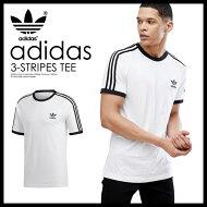 【希少!大人気!ユニセックスTシャツ】adidas(アディダス)3-STRIPESTEE(3ストライプスTシャツ)MENSLADYSメンズレディースTシャツ半袖WHITE(ホワイト)CW1202ENDLESSTRIP
