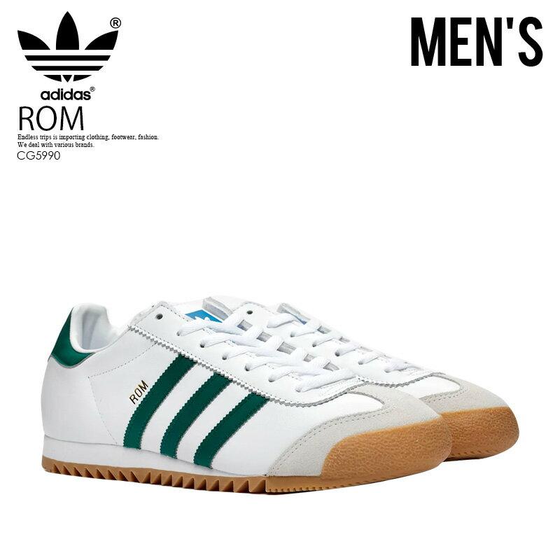 メンズ靴, スニーカー ! ! adidas () ROM () FTWWHTCGREENGREONE () CG5990 ENDLESS TRIP ENDLESSTRIP