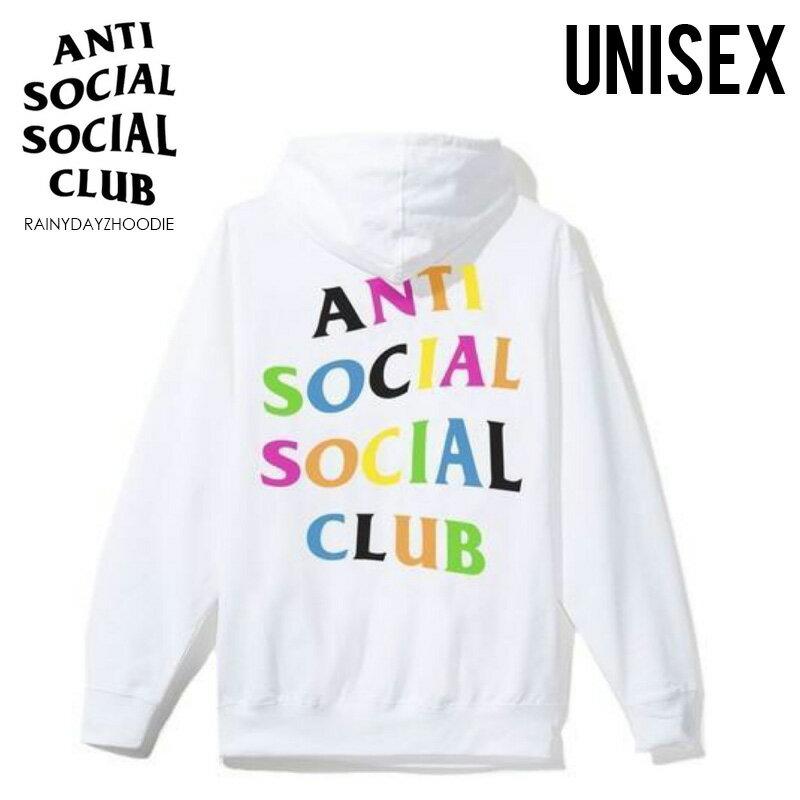 トップス, パーカー !!ANTI SOCIAL SOCIAL CLUB () RAINY DAYZ HOODIE ( ) WHITE () RAINYDAYZHOODIE