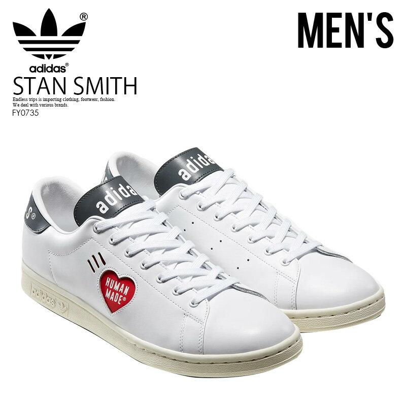 メンズ靴, スニーカー !! adidas () STAN SMITH HUMAN MADE ( ) FTWWHTOWHITEGOLDMT () FY0735 ENDLESS TRIP ENDLESSTRIP