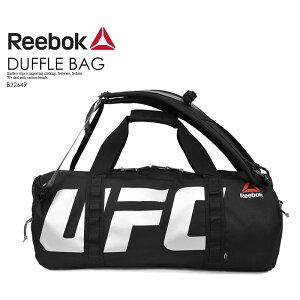 【希少!大人気!ユニセックス モデル】 Reebok (リーボック) UFC CONVERTIBLE GRIP DUFFLE BAG (コンバーチブル グリップ ダッフル バッグ) メンズ レディース ボストンバッグ リュック バックパック BLACK (ブラック) B32649 ENDLESS TRIP エンドレストリップ