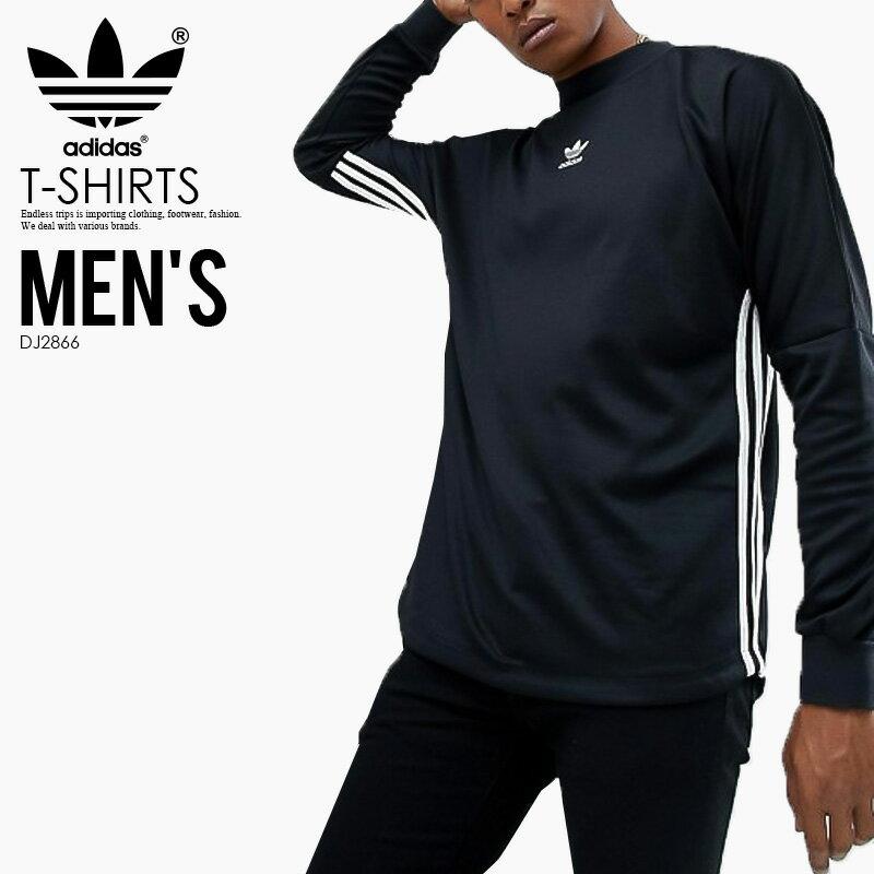 トップス, Tシャツ・カットソー ! ! T adidas () AUTHENTIC STRIPE JERSEY (AUTH STR JRSY) ( ) MENS T BLACKWHITE () DJ2866