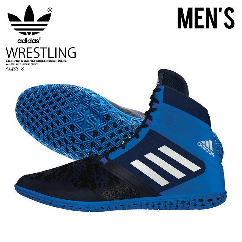 メンズ靴, スニーカー !! adidasFLYING IMPACT ( ) WRESTLING SHOES CONAVYSILVMTSHOBLU () AQ3318