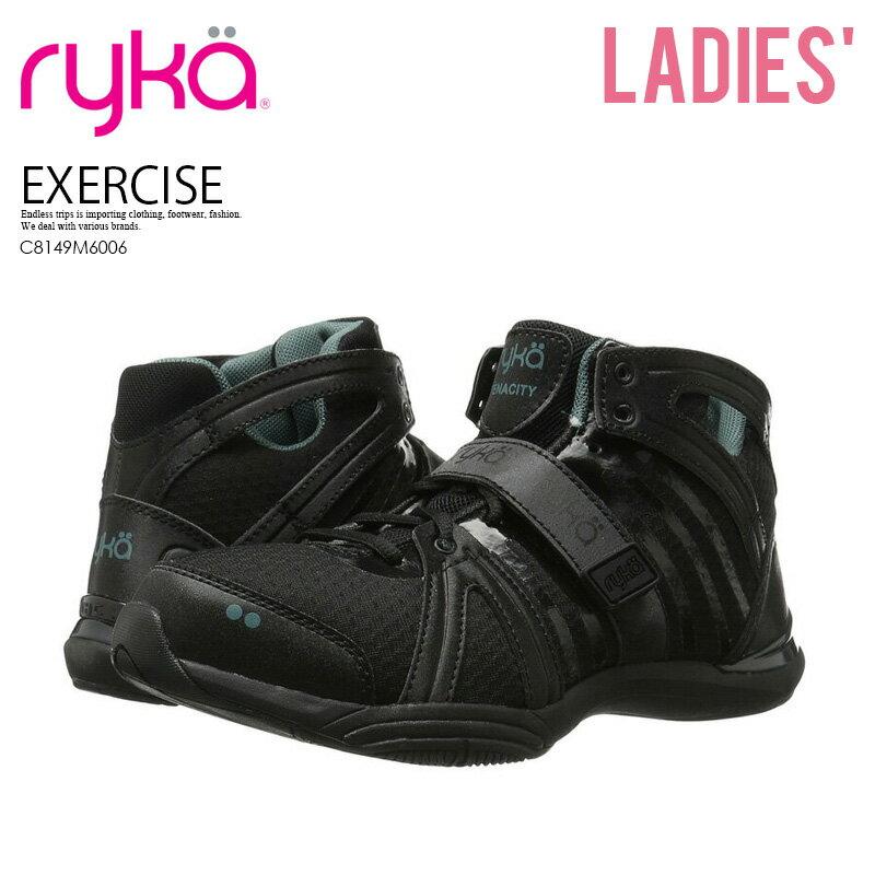 レディース靴, スニーカー !! RYKA () TENACITY () BLACKGREEN () C8149M6006 ENDLESS TRIP