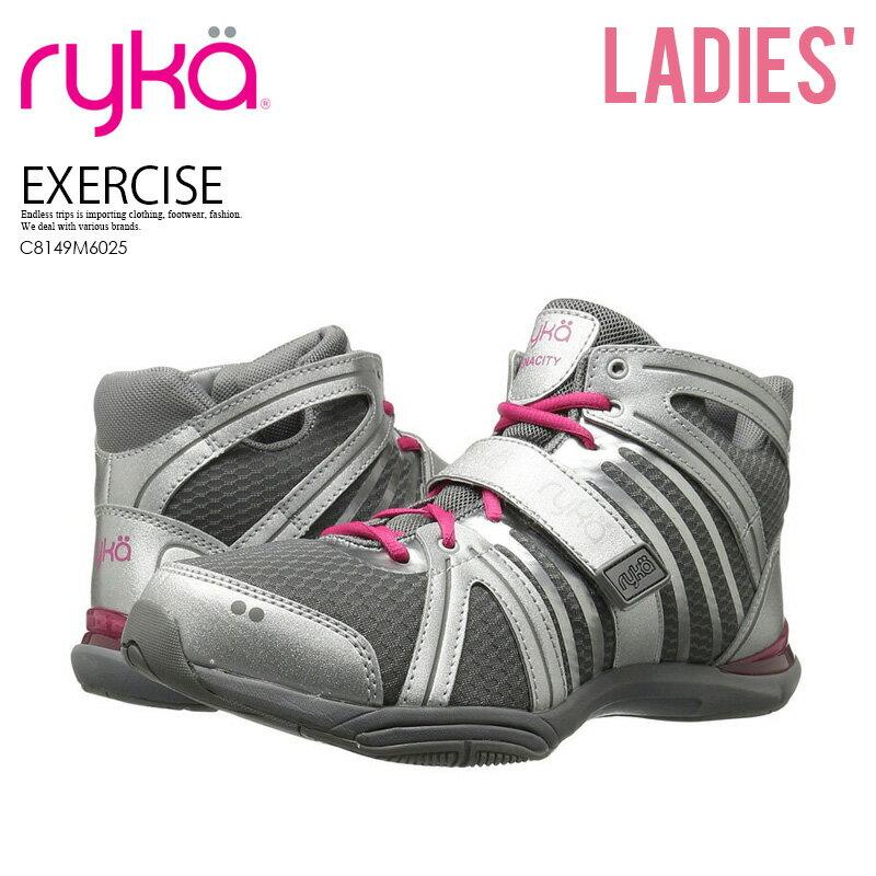 レディース靴, スニーカー !! RYKA () TENACITY () SILVERFROST GREYCARMINE ROSE () C8149M6025 ENDLESS TRIP