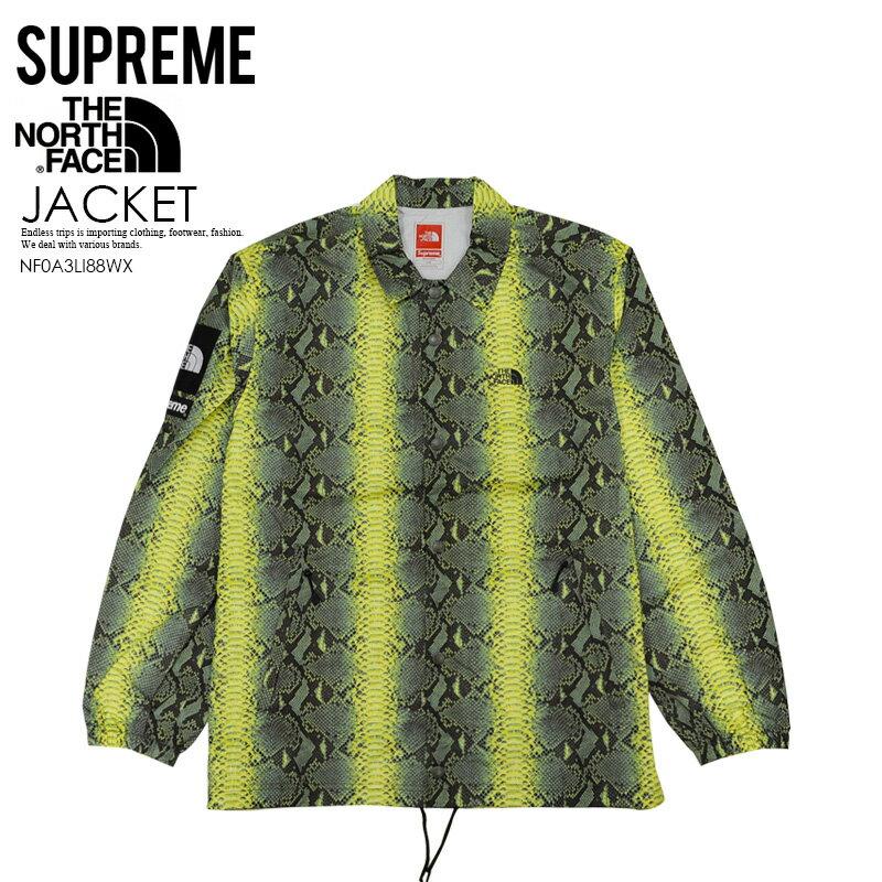 メンズファッション, コート・ジャケット  Supreme THE NORTH FACE ( ) SNAKESKIN TAPED SEAM COACHES JACKET(M PRINT COACHES JKT) ( ) GREEN()NF0A3LI88WX