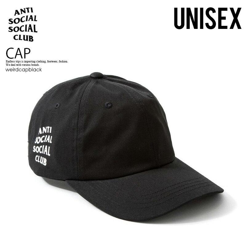 メンズ帽子, キャップ !!ANTI SOCIAL SOCIAL CLUB () WEIRD CAP ( ) BLACK () weirdcapblack