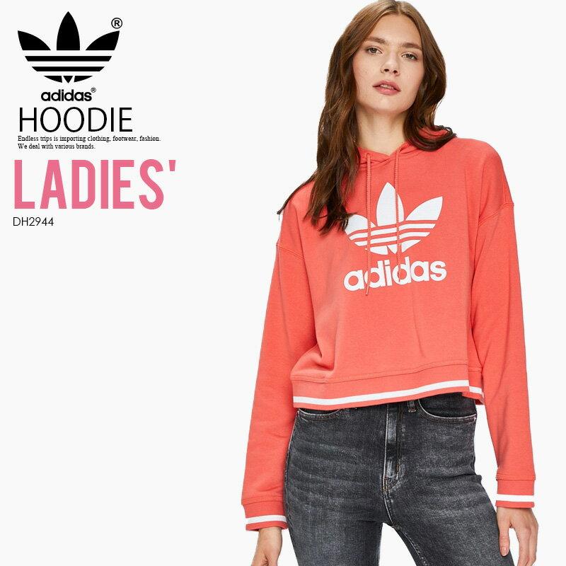 トップス, パーカー ! ! adidas () WOMENS ACTIVE ICONS HOODIE ( ) TRACE SCARLET ( ) DH2944 ENDLESS TRIP