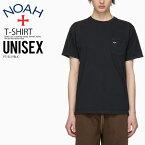 【日本未入荷!! 入手困難! ユニセックス カットソー】 NOAH NYC (ノア ニューヨーク) POCKET TEE V1 (ポケット 半袖 Tシャツ) ロゴ メンズ レディース コットン トップス BLACK (ブラック) PT1SS19BLK