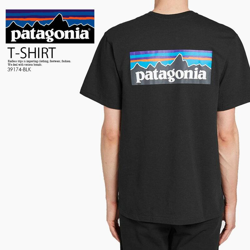トップス, Tシャツ・カットソー !!! patagoniaP-6 LOGO RESPONSIBILI TEE ( T) T BLACK () 38504 BLK