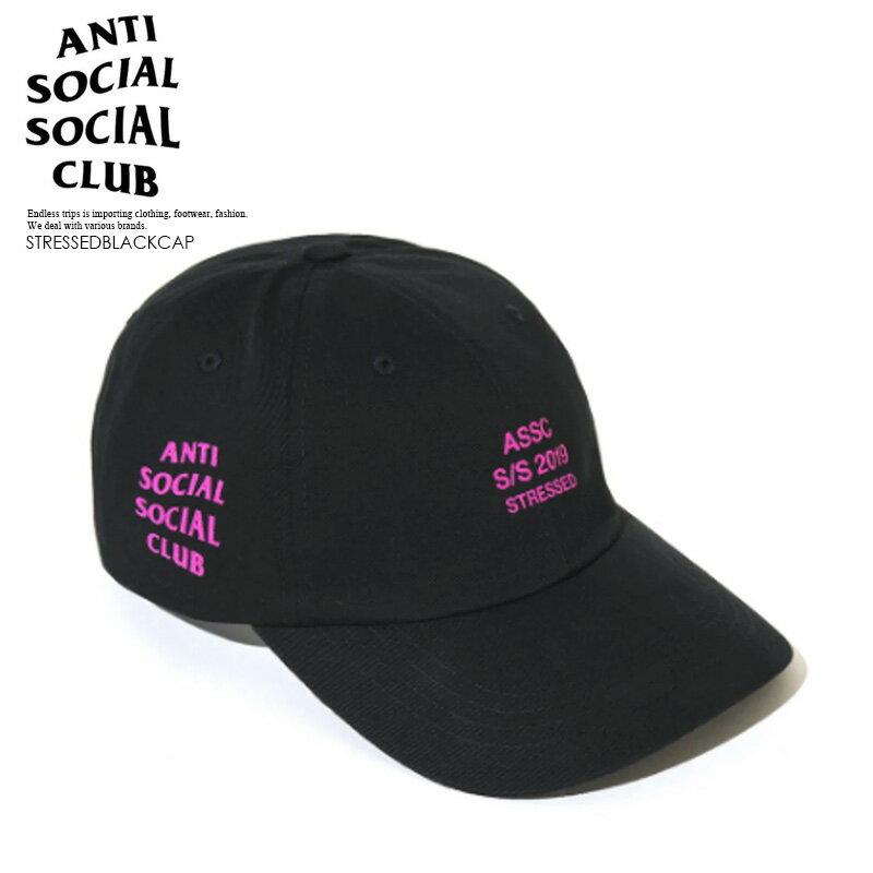 メンズ帽子, キャップ !!ANTI SOCIAL SOCIAL CLUB () STRESSED BLACK CAP ( ) BLACK () STRESSEDBLACKCAP dpd