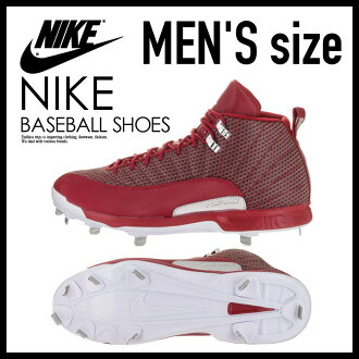 NIKE(耐吉)JORDAN XII RETRO METAL(喬丹12重新流行金屬)MENS棒球釘鞋GYM RED/WHITE-METALLIC SILVER(紅/白)854567 600 ENDLESS TRIP(永無休止的旅行)