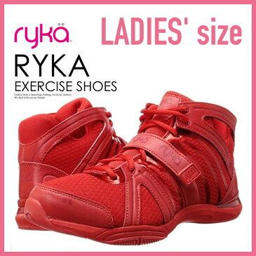 【希少!大人気!レディース モデル】 RYKA (ライカ) TENACITY (テナシティ) ウィメンズ ダンス エクササイズ シューズ スニーカー RED (レッド) 赤 C8149M6600 ENDLESS TRIP ENDLESSTRIP エンドレストリップ