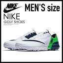 【希少!大人気!メンズ ゴルフシューズ】 NIKE (ナイキ) FI FLEX (FI フレックス) MENS ゴルフシューズ スパイクレス WHITE/ARMORY NAVY-GREEN STRIKE (ホワイト/ネイビー/グリーン) 849960 103