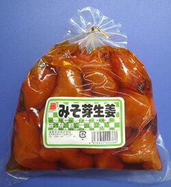 【味噌漬風しょうが】みそ芽生姜 340g (中袋 巾着)