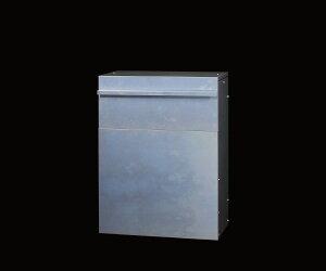 ガルバ製2面開閉ダスト収納庫ガルバ使用ゴミ保管庫大きく開くガルバ製ゴミ保管庫ガルバ製2面開閉ダスト収納庫