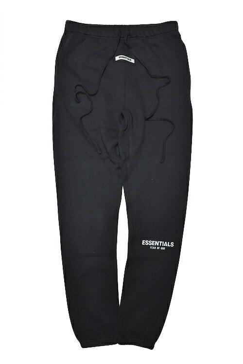 メンズファッション, ズボン・パンツ FOG (FEAR OF GOD) ESSENTIALS SWEAT PANTS BLACK BLACK REFLECTIVE 19AW