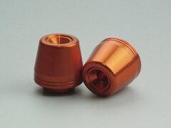 【NEW】HONDA ホンダ NC700S NC700X INTEGRA エンデュランス製 アルミハンドルウェイトA(オレンジ)