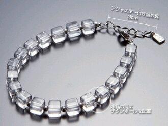Phiten キュービッククリスタルブレス ( size: 19 cm ) adjustable * order items fs3gm