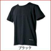 【お取り寄商品】【phiten】ファイテン RAKUシャツ TCリバー 半袖 【ブラック】【L】1着【P25Jan15】