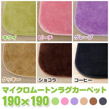 【送料無料】アイリスオーヤマ マイクロムートンラグカーペット OPM-1919 選べる5色ホットカーペット対応