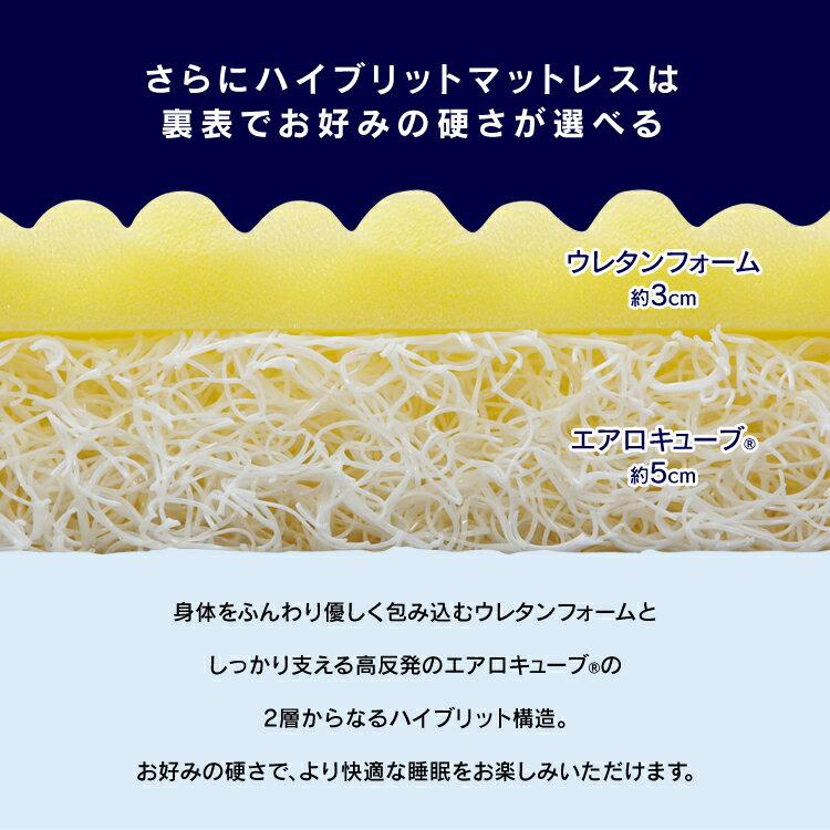 アイリスオーヤマ『エアリーハイブリッドマットレスシングル(HB90-S)』