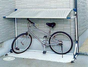 サイクルガレージ CG-600 送料無料 アイリスオーヤマ 自転車置き場 自転車 小型バイク 二輪車 雨よ...