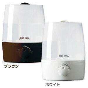 アイリスオーヤマ超音波式加湿器UHM-300Uホワイト・ブラウン