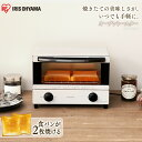 トースター 2枚 EOT-012-Wアイリスオーヤマ 手軽